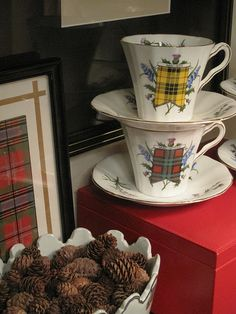 OMG - I have a set of these tartan teacups that my mother's Scottish governess brought to the States with her!