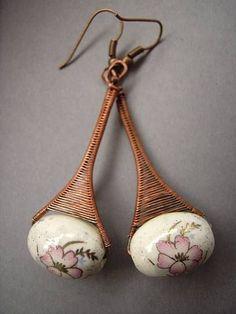 blossom earrings by ~Lethe007