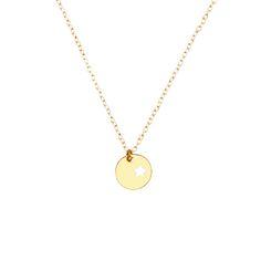 Star gold medal necklace – Collares de oro Star gold medal necklace es un collar hecho en plata de ley 925 chapado en oro de 18 kilates con un colgante en forma de medalla con una estrella. No dudes contactarnos si quieres opciones de personalización.  Medidas: Largo de la cadena: 44cm Diametro medalla: 1,2cm […]
