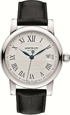 MONTBLANC STAR DATE AUTOMATIC. A classically beautiful wristwatch that combines the brand's unmistakable aesthetics and the traditional Swiss art of watchmaking. Perfect craftsmanship unites noble design with harmonious proportions.