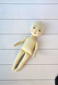 Blank doll body-9 blank rag doll ragdoll bodythe by NilaDolss