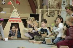 "Workshop ""Made in Cardboardia"" (Moscow, Russia) by Cardboardia , via Behance"