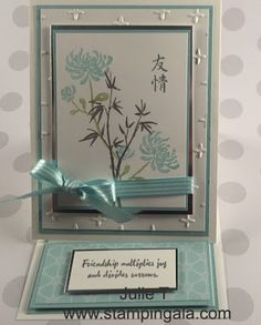Stampin Gala: ARTISTICALLY ASIAN STAMPIN' WRITE MARKER TECHNIQUE