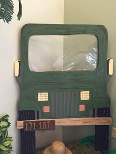 Jeep will be covered in camo plastic table cloth which will cover tiki bar used . - Jeep will be covered in camo plastic table cloth which will cover tiki bar used … Jeep will be covered in camo plastic table cloth which will cover tiki bar used … Safari Birthday Party, Jungle Party, Dinosaur Birthday, Jungle Decorations, School Decorations, Safari Theme, Jungle Safari, Jungle Theme Classroom, Classroom Themes