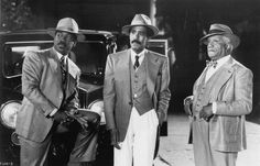 Scene from Harlem Nights with Eddie Murphy, Richard Pryor and Redd Foxx set during the Jazz Age.