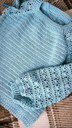 Tina's Handicraft : Step By Step Photo T - Diy Crafts - maallure Pull Crochet, Crochet Jumper, Mode Crochet, Black Crochet Dress, Crochet Cardigan Pattern, Crochet Blouse, Diy Crochet, Crochet Crafts, Crochet Baby