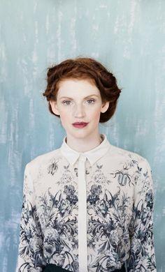 Alexandra Grecco F/W 2013 | Helen Dealtry for Woking Girl Designs