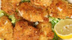 Peynirli Kızarmış Tavuk