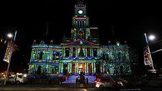 Town Hall Christmas Lights