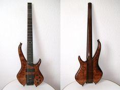 Sei Bass Flamboyant 5 headless K-Fra images