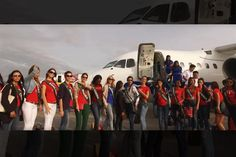 Miss Earth 2016 contestants visit the Aklan Province in Philippines