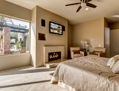 Master Suite with Views of Santa Rosa Mountains