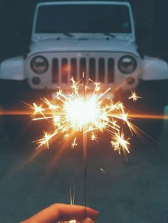 Jeep / Sparkler / Tumblr / 4th of July