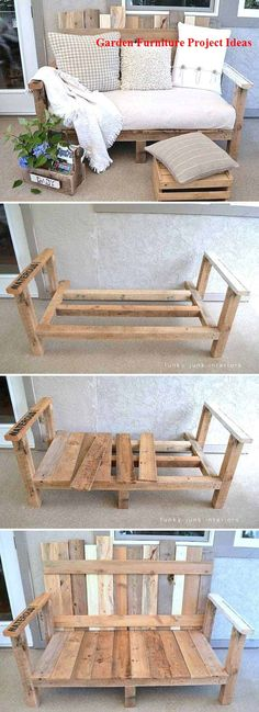 20 Insanely Cool DIY Yard and Patio Furniture - Patio Furniture - Ideas of Patio. - 20 Insanely Cool DIY Yard and Patio Furniture – Patio Furniture – Ideas of Patio Furniture – Awesome DIY Patio Furniture Source by - Diy Yard Furniture, Pallet Garden Furniture, Furniture Projects, Rustic Furniture, Modern Furniture, Antique Furniture, Furniture Layout, Furniture Plans, Furniture Makeover
