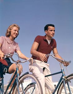 View top-quality stock photos of Teenage Boy And Girl On Bicycles. Find premium, high-resolution stock photography at Getty Images.