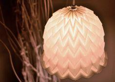 Custom Origami Paper Lamp shades
