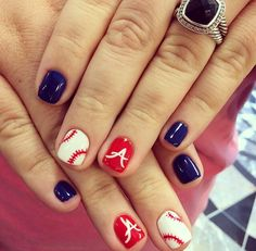 Atlanta Braves nails