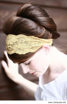 Amazing lace headband