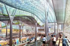 D.C.'s Washington Union Station Master Plan seeks to transform Union Station into a 21st century transportation hub; will increase capacity to accommodate future rail expansion while still preserving the station's historic architectural design.