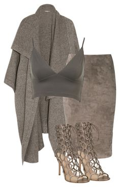 """Untitled #380"" by hebashk ❤ liked on Polyvore featuring STELLA McCARTNEY, Brunello Cucinelli and Gianvito Rossi"