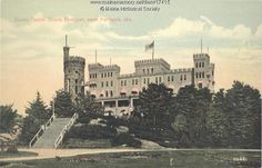 Do you recognize this castle that was a turn-of-the-century amusement park destination until it burned down in 1914?