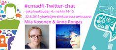 Piilotettu aarre: Ensimmäisen #cmadfi-Twitter-chatin satoa
