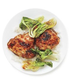 Teriyaki Chicken With Bok Choy | Want to get a leg up on dinner? Keep a bulk pack of this flavorful, budget-friendly cut in the freezer—and these easy recipes in your weeknight rotation.