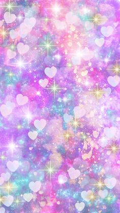 glitter wallpaper n. Cute Galaxy Wallpaper, Rainbow Wallpaper, Cute Wallpaper For Phone, Heart Wallpaper, Glitter Wallpaper, Kawaii Wallpaper, Pastel Wallpaper, Cute Wallpaper Backgrounds, Pretty Wallpapers