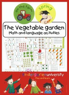 This package provides many great math and language activities and is a valuable addition to farm or spring themes. We also included 40 suggestions on how you may use the materials.