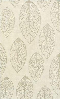 modernrugs.com off white cream leaves neutral rug