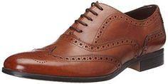 Oferta: 99.9€ Dto: -28%. Comprar Ofertas de Clarks Banfield Limit - zapatos con cordones de cuero hombre, color marrón, talla 45 barato. ¡Mira las ofertas!