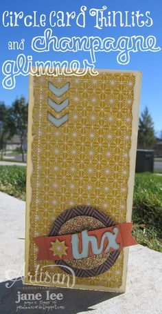 Thx & Sweater Weather - AWW Oct 4 | Jane Lee http://janeleescards.blogspot.com