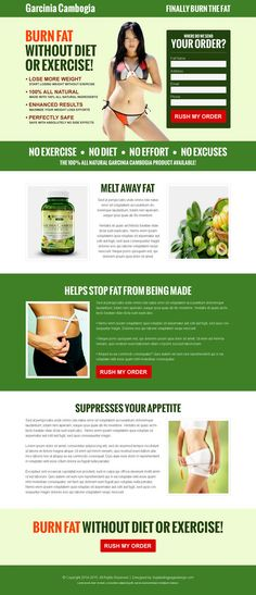 Garcinia cambogia lead capture landing page design templates from https://www.buylandingpagedesign.com/buy/garcinia-cambogia-burn-fat-without-diet-or-exercise-converting-landing-page-design/965