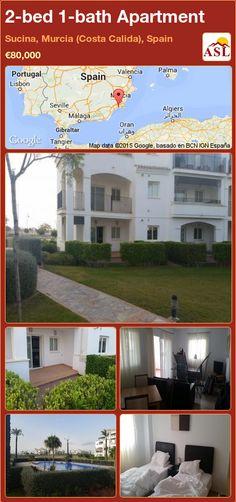 2-bed 1-bath Apartment in Sucina, Murcia (Costa Calida), Spain ►€80,000 #PropertyForSaleInSpain