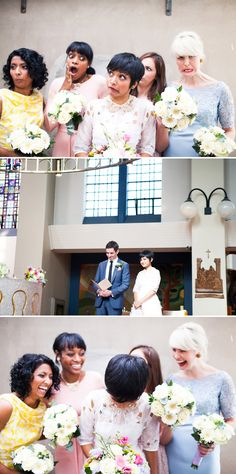 wedding in Belfast - love the colors and personality of this wedding!