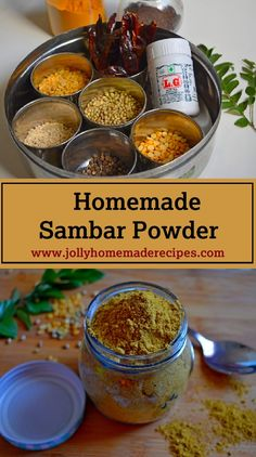 Homemade Recipes is a collection of Healthy, Vegetarian, Vegan & Non Vegetarian recipes. It is a combination of Indian as well as International Recipes.Sharing simple recipes with step by step method to make cooking easy. Lunch Recipes, Healthy Dinner Recipes, Vegetarian Recipes, Vegetarian Platter, Indian Food Recipes, Real Food Recipes, Cooking Recipes, Sambhar Recipe, Powder Recipe