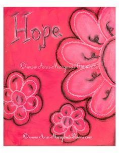 """Hope"" Art Print from Original Painting by Ann~Margaret"