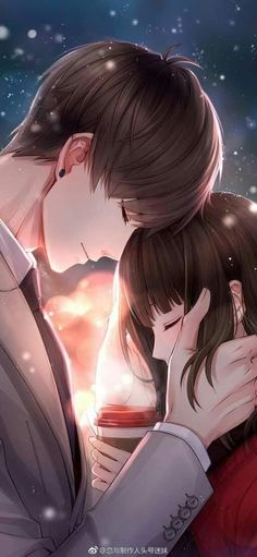 Couple cartoon, cute anime couples, romantic love couple, anime cupples, an Couple Manga, Anime Love Couple, Couple Cartoon, I Love Anime, Anime Cupples, Anime Amor, Kawaii Anime, Anime Cosplay, Anime Bisou