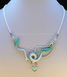 Spirited Away, Haku Necklace. I have no idea where I would wear this but it is beautifully done!