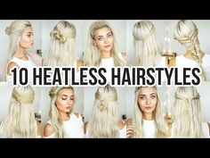 5 Awesome Easy Hairstyles for People with Glasses   Stella - YouTube