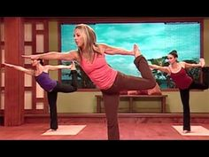 Denise Austin: Yoga Cardio Burn Workout is a series of aerobic-paced yoga exercises that is designed to jumpstart the metabolism to burn calories and increase flexibility for an incredible fat meltdown. Tighten your abs and strengthen your core as you tone your arms, legs, butt, chest, shoulders, and back with this flowing combination of Yoga po...