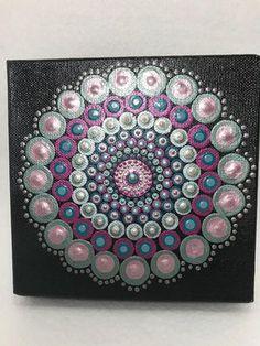 Kunst der Aborigines Acryl malen Dot Design von ...