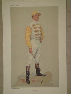 Vintage Vanity Fair Jockey Danny print by Spy  by Posterperfection, £12.99