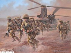 Afghanistan and Iraq Military Art Prints