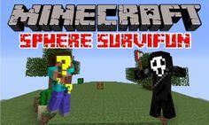 """Minecraft: Sphere SurviFun EP.3 """"La notte porta esplosioni"""""""