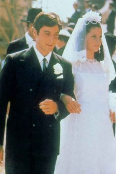 The Godfather . (1972). | 48 Of The Most Memorable Wedding Dresses From The Movies