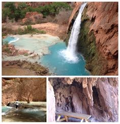 Experience Havasupai Falls, Arizona http://www.momtobedby8.com/2013/05/havasupai-falls.html