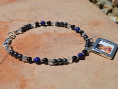 Navy Marines Military bracelet heal and be calm with by CrystalMeB