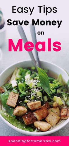 Save money on meals with these tips. Food doesn't have to cost a fortune! Budget Meals For A Week, Budget Family Meals, Meals For Four, Budget Freezer Meals, Large Family Meals, Frugal Meals, Easy Meals, Budget Recipes, Inexpensive Meals