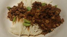 Ja Jian Noodles in Minced Chicken Sauce
